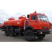 Топливозаправщик АТЗ 56142-010-35 на КамАЗ 43118 фото
