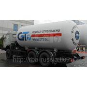 Автоцистерна газовоз АЦТ-10УН на КамАЗ 65115 фото