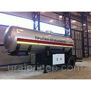 Полуприцеп газовоз заправщик для СУГ и заправки автомобилей с ГБО фото