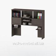Надстройка для стола, Васко СОЛО-013 Корпус венге, фасад венге/венге фото