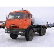 Автоцистерны-водовозы АЦПТ-8,3 на шасси КАМАЗ 43118 (6х6) фото