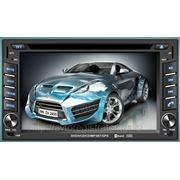 Мультимедиастанция CU-6202 — 2DIN автомагнитола с GPS, DVD, MPEG4, MP3, USB, IPOD, SD, BT фото