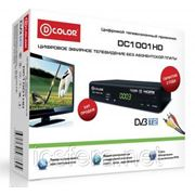 Цифровой эфирный приёмник D-Color DC1001HD фото