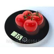 Электронные кухонные весы с сенсорным управлением фото