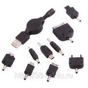 Выдвижное USB зарядное устройство для мобильных телефонов любых моделей фото