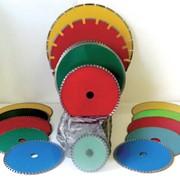 Инструмент из порошков природных и синтетических алмазов для резки различных материалов фото