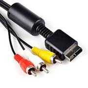Кабель PS2/PS3 AV фото