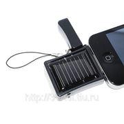 Зарядное устройство на солнечной батарее 500mAh для Apple iPhone, iPod фото