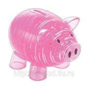 3D Головоломка Свинья-копилка фото