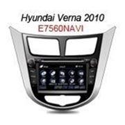 Штатное головное устройство HYUNDAI Solaris, Verna FlyAudio E7560NAVI фото