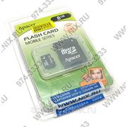Micro SDHC карта памяти Apacer 8GB Class 4 (с адаптером SD) фото