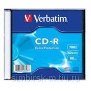 Диск CD-R 700Mb Verbatim 52X, Slim фото