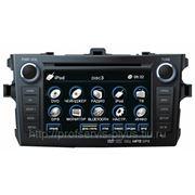 Штатное головное устройство Toyota Corolla 2006 - 2013 (FlyAudio E7525NAVI) (Windows) фото