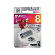 USB флэш-диск Silicon Power 8GB Touch 835 Iron Gray фото