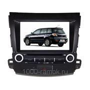 Штатная магнитола Mitsubishi Outlander 2007 - 2012 фото