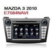 Штатное головное устройство FlyAudio E7584NAVI MAZDA 3 с 2010 г. в. фото