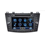Штатное головное устройство Mazda 3 фото