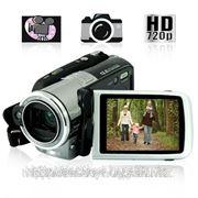 HD видеокамера/DV камера, 5х оптический зум фото