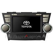 Штатная автомагнитола PMS THL-7548 для Toyota Highlander фото
