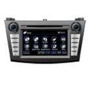 Штатная автомагнитола FlyAudio E7584NAVI для Mazda 3 2010 года фото