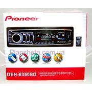 Автомагнитола Pioneer DEH 6350 SD Пионер фото