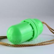 Тубус-кошелёк пластмассовый 5-0293 водонепроницаемый д 55мм дл. 130мм фото