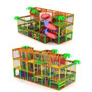 Детский игровой трехэтажный лабиринт. Радостное детство фото