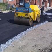 Строительство дорог, улиц, площадок фото