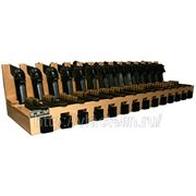 Деревянный ложемент на 14 пистолетов Макарова фото