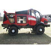Автомобиль пожарный специального тушения АПСТ NATISK - 600 KS (SILANT) фото