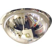 Зеркало для помещений купольное D=600мм фото