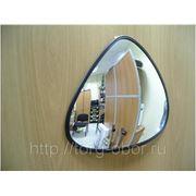 Зеркало треугольное для помещений на стену фото