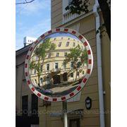Зеркало сферическое обзорное дорожное фото