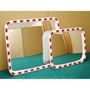Уличное зеркало прямоугольное 400х600 мм фото