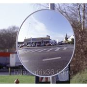 Выпуклое зеркало универсальное круглое фото