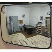 Прямоугольное выпуклое зеркало К400х600