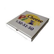 Лоток под пиццу с 4-х цветной печатью фото