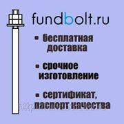 Фундаментный болт 24х450 анкерный прямой 5.1 ГОСТ 24379.1-80 фото