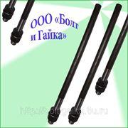 Болты фундаментные прямые, тип 5 м36х2240 ГОСТ 24379.1-80. ст3-35, 35х, 40, 40х, 09г2с, 45. ( масса шпильки 17.89 кг. ). фото
