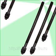 Болты фундаментные прямые, тип 5 м36х1800 ГОСТ 24379.1-80. ст3-35, 35х, 40, 40х, 09г2с, 45. ( масса шпильки 14.37 кг. ). фото