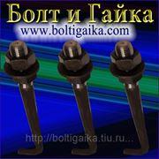 Болт фундаментный изогнутый тип 1.1 М30х1000 (шпилька 1.) Сталь 35. ГОСТ 24379.1-80 (масса шпильки 5.99 кг. ) фото