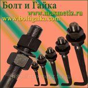 Болт фундаментный изогнутый тип 1.1 (шпилька 1.) М16Х500 ст.09г2с ГОСТ 24379.1-80 (масса шпильки 0,85 кг.) фото
