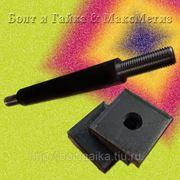 Болт фундаментный 2.2 м56х800, сталь: 3-35, 40х, 45, 09г2с, ГОСТ 24379.1-80. (вес шпильки 16.03 кг.) фото