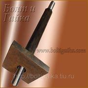 Болт фундаментный 2.2 м56х1120, сталь: 3-35, 40х, 45, 09г2с, ГОСТ 24379.1-80. (вес шпильки 23.13 кг.) фото