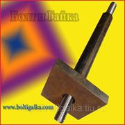 Болт фундаментный 2.2 м56х2500, сталь: 3-35, 40х, 45, 09г2с, ГОСТ 24379.1-80. (вес шпильки 53.75 кг.) фото