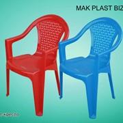 Стул-кресло пластмассовый фото