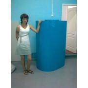 Пищевая пластиковая ёмкость на 1 м/куб., для хранения пищевых и агрессивных жидкостей фото