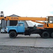 Услуги автокрана ЗИЛ - 133 ГЯ. 10 тонн