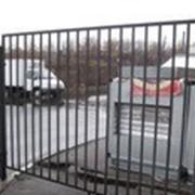 Забор металлический сварной фото