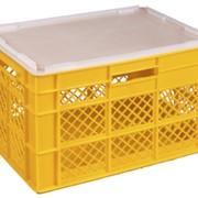 Ящики пластиковые для хлеба, хлебобулочных и кондитерских изделий фото